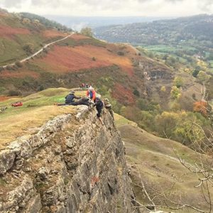 Climbing in North Wales