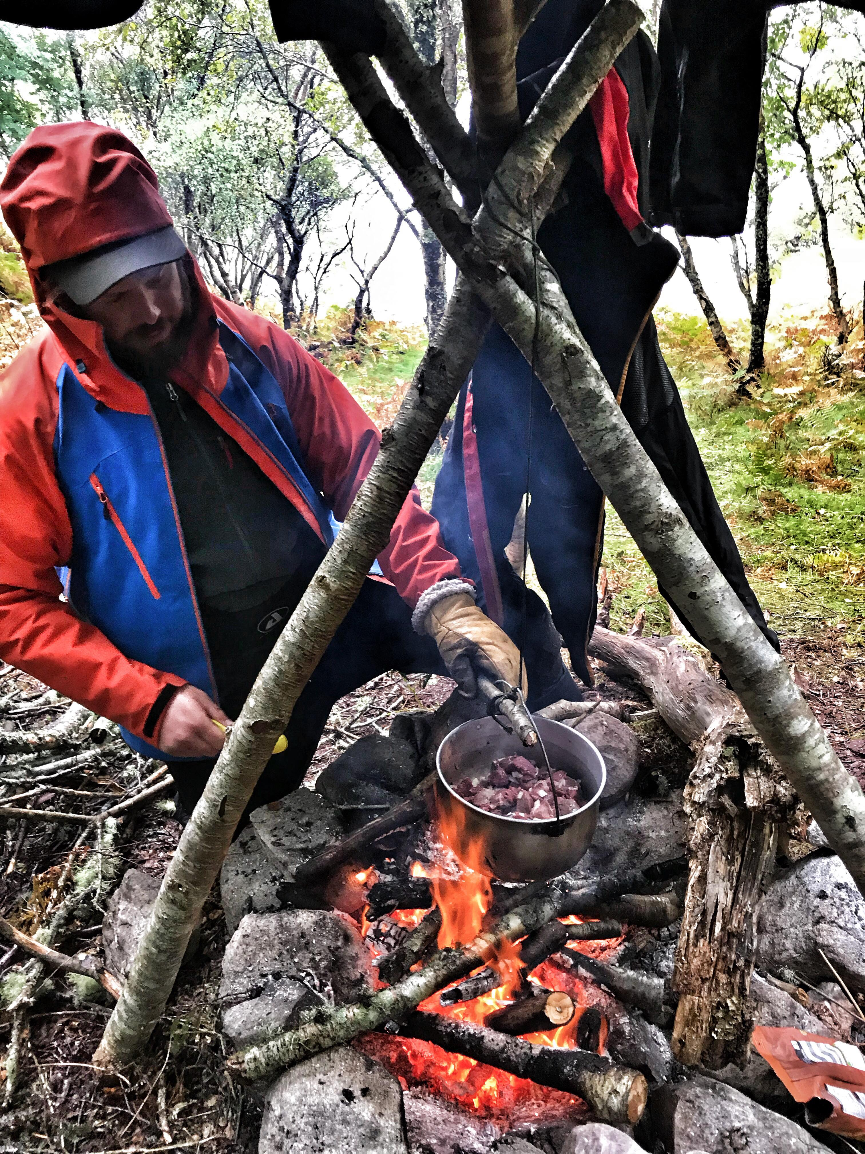 Bearded men adventures Bushcraft and wild camping