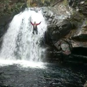 Canyoning Bearded Men Adventures