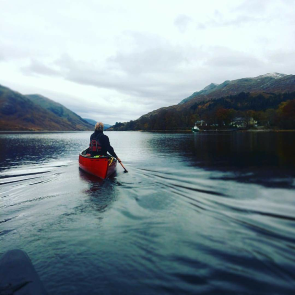 Canoeing in North Wales