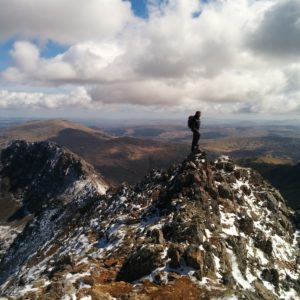 Mountain guiding in North Wales
