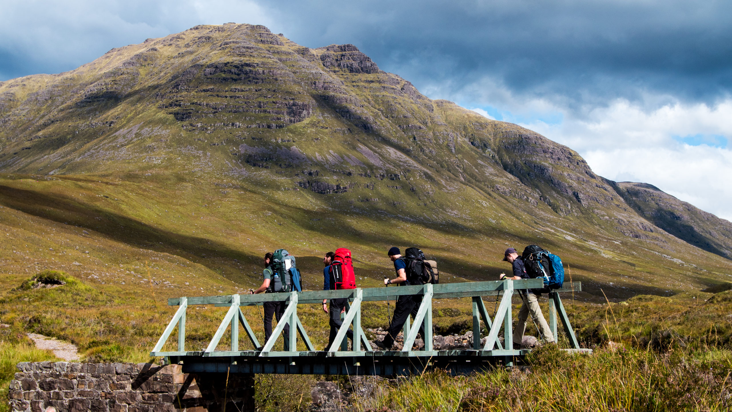 Guided Mountaineer expedition in Scotland