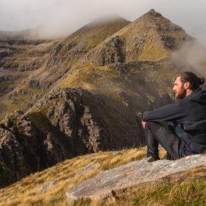 Scottish guided mountaineering adventure