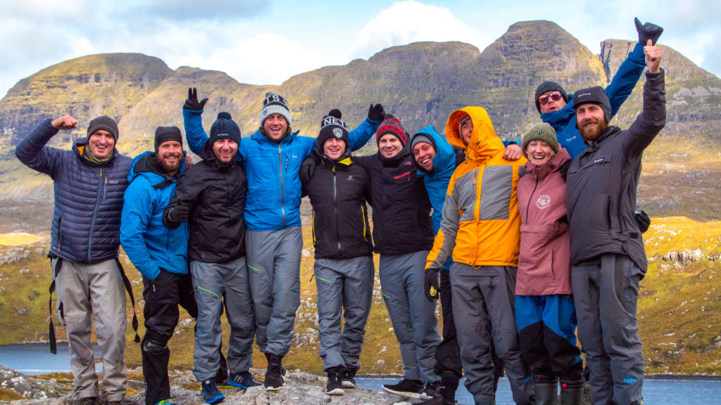 Guided canoe expedition in Scotland