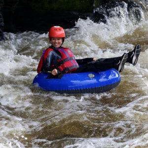 River tubing North in Wales