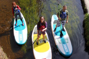 Stand Up Paddle Boarding, Bearded Men Adventures