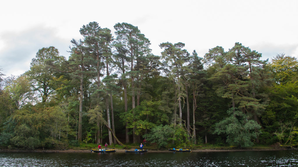 Scottish wilderness canoe adventure