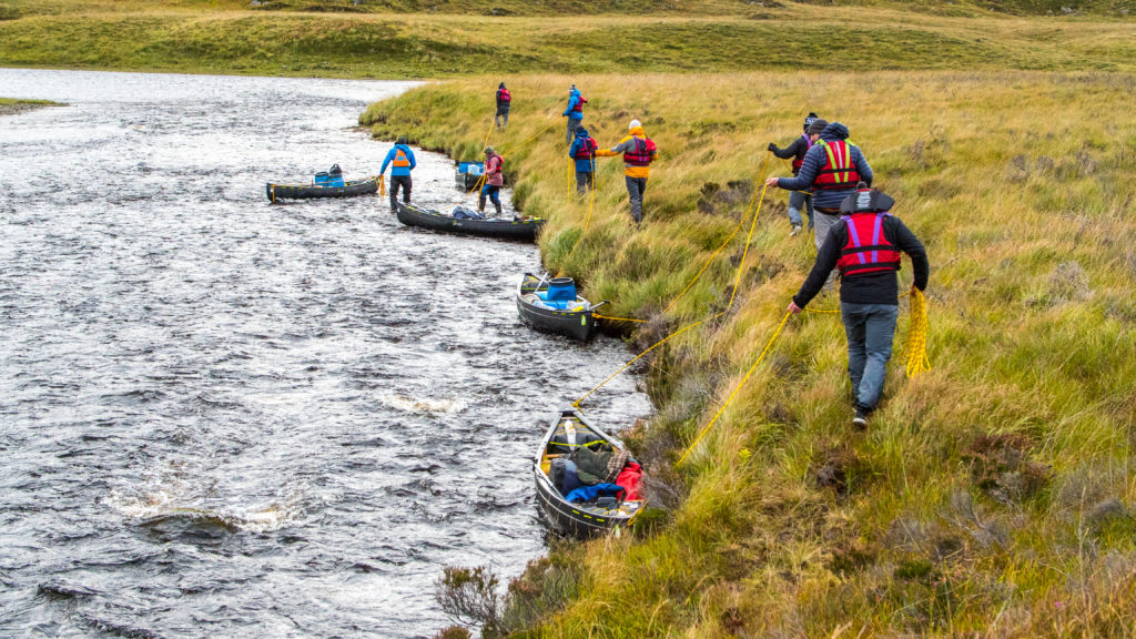 Guided canoe expeditions in Scotland