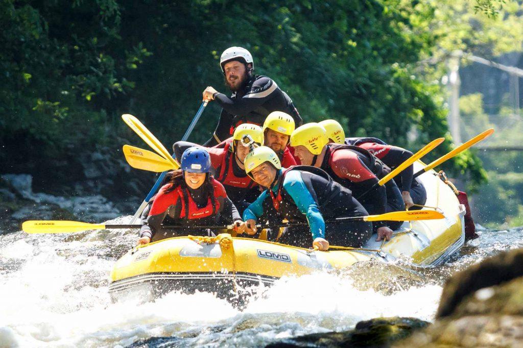 Bearded Men Adventures Rafting