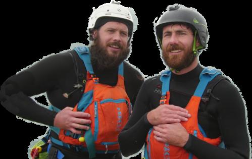 Hugh and Jason - The Bearded Men
