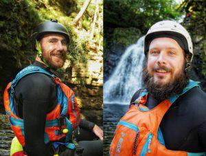 Jason and Hugh - The Bearded Men