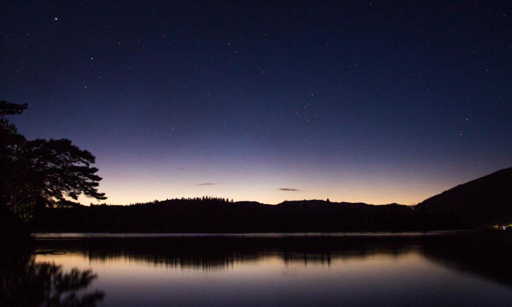 Loch Awe at night