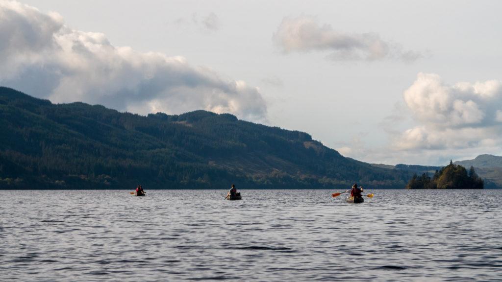 loch awe canoeing