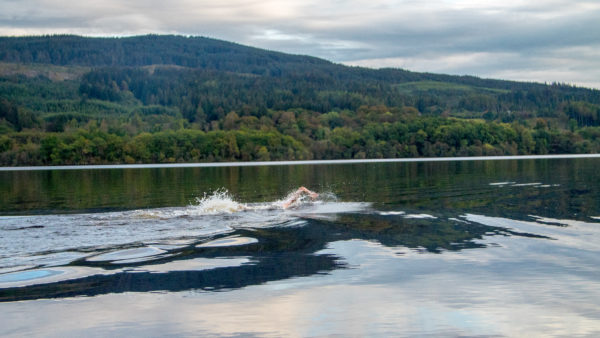 Swimming in Loch Awe