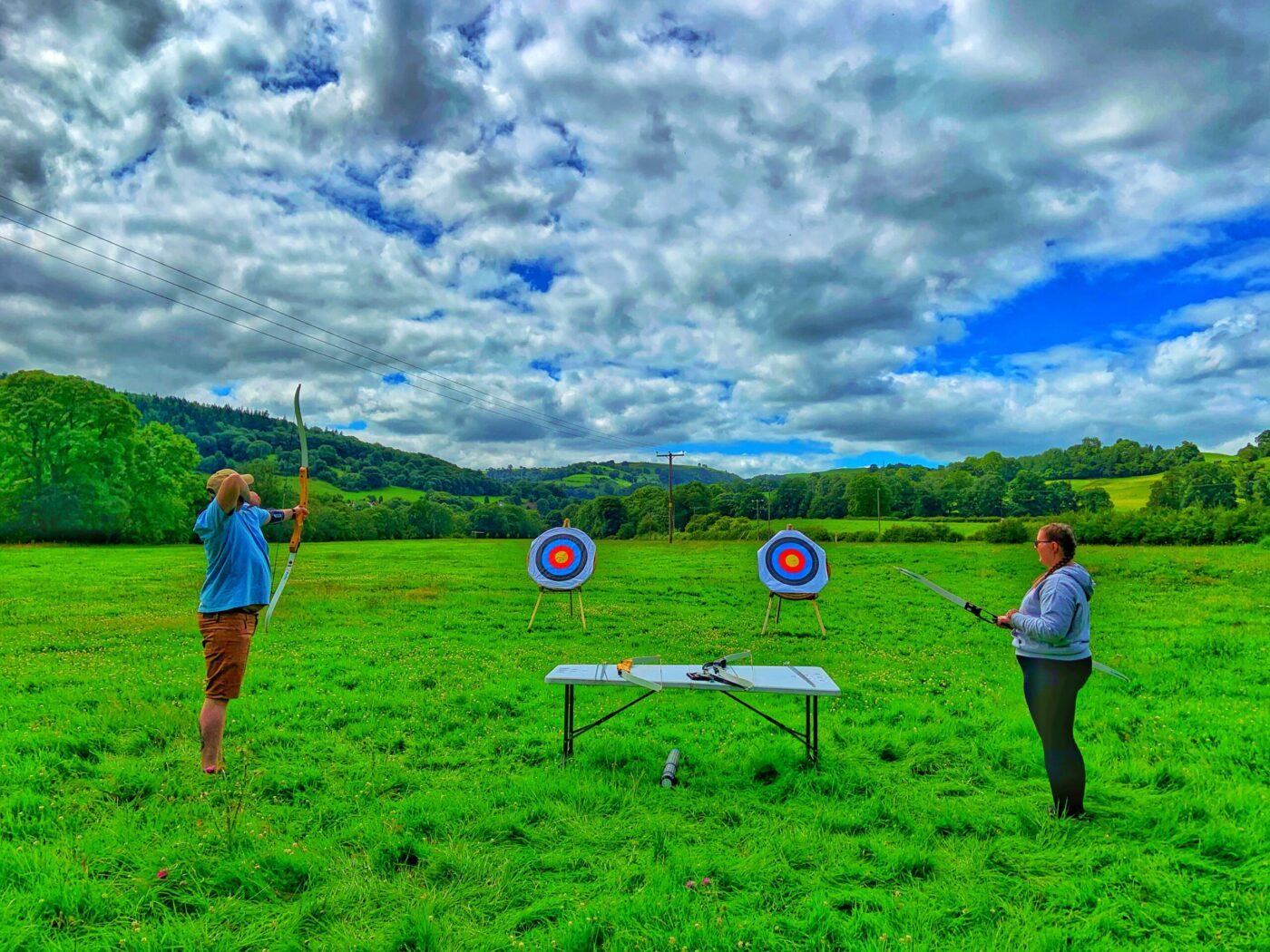 1 Archery & Axe Throwing with Bearded men Adventures