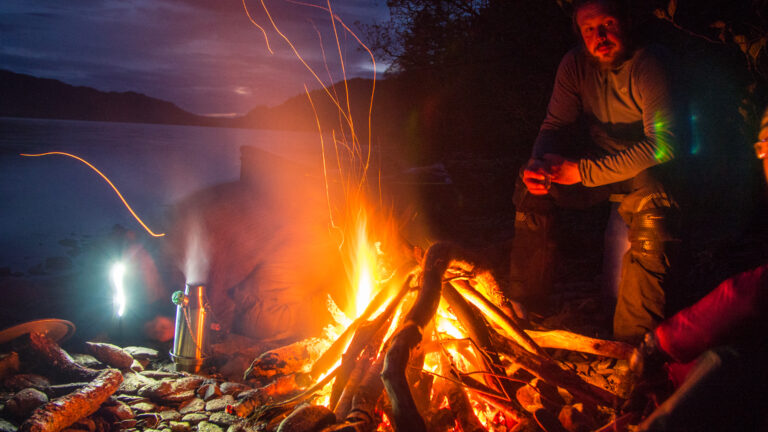 Zero to Hero, Adventurous weekend, eating by the fire