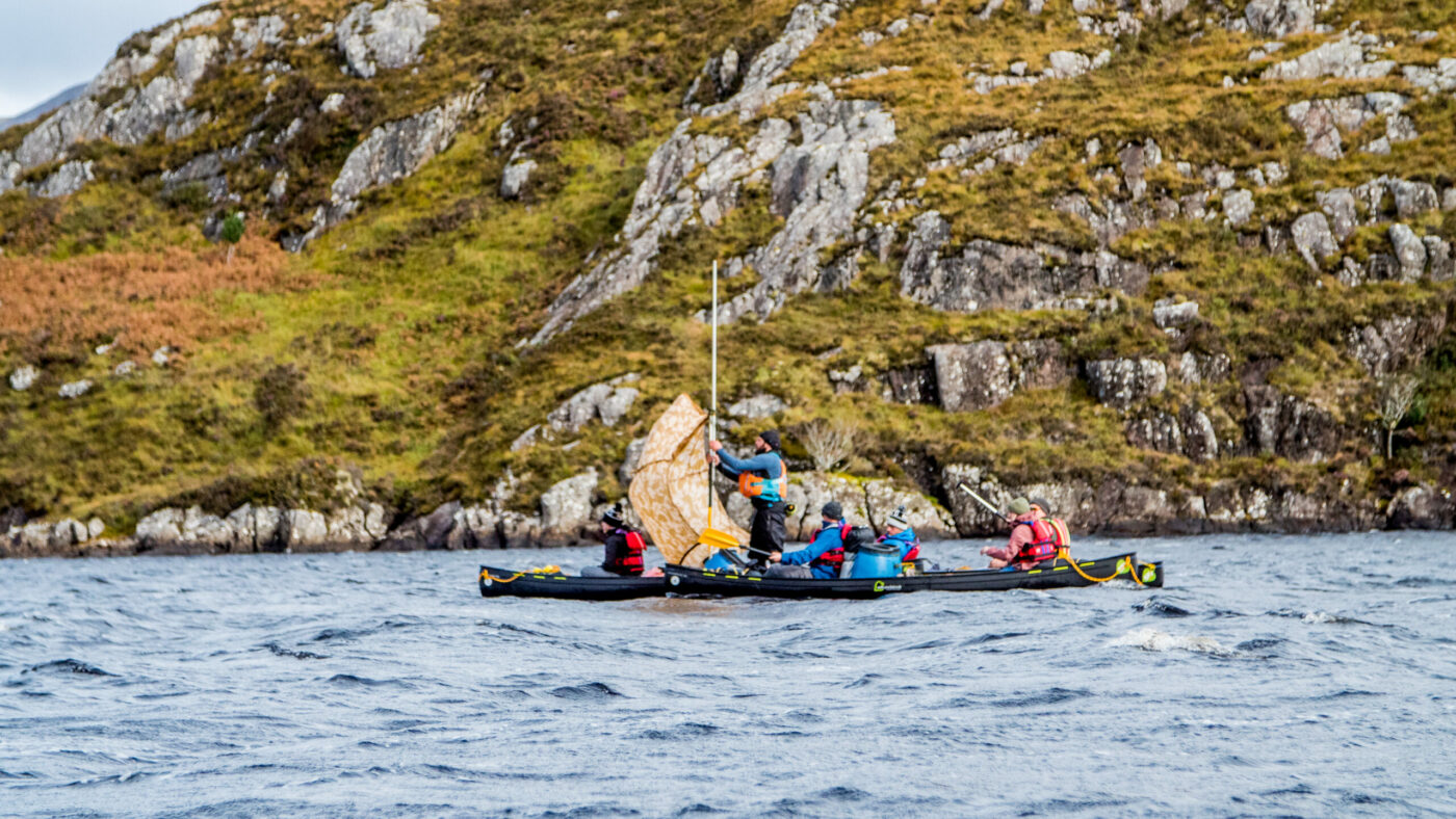 The Adventurer, Sailing in scotland